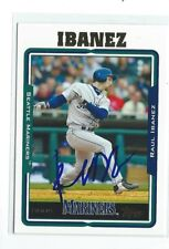 Raul Ibanez Signed 2005 Topps Card #123