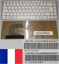 Azerty French Keyboard SONY VPC-S AEGD3P00040 9Z.N3VSQ.60F 148779031 05W06013