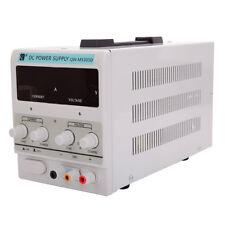 Stabilizer DC Power Supply 30V 5A 110V Precision Variable Digital Clip W/US Cord