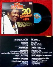LP Fats Domino 20 Greatest Hits Sleeping on the Job Jam