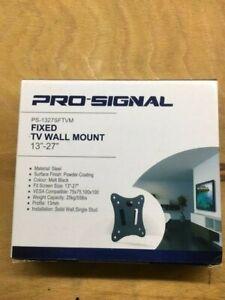 "Pro Signal Fixed Tv Wall Mount 13""-27"" bracket"
