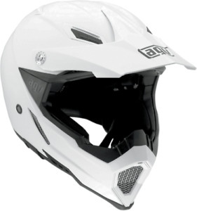 Wild Frontier Black//White XXS AGV Casco Moto Ax-8 Dual Evo E05 Multi