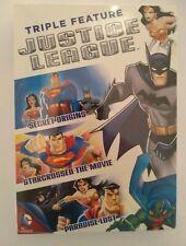 New listing Justice League (Triple Feature) Secret Origin, Star-Crossed, Paradise Lost Dvd