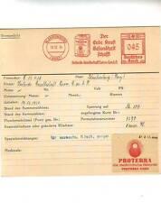Proterra Heilerde 1934 Luvos Blankenburg Reim Erde Sonne AFS Unikat Archivkarte