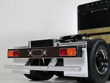 Custom Rear Lower Bumper Bar Protector Tamiya 1/14 Semi King Hauler Tractor
