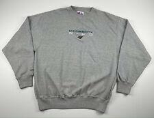 Vintage Minnesota Wild Majestic Crewneck Sweatshirt Grey Mens Size Xl