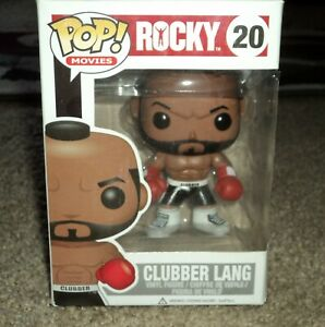 Clubber Lang Funko Pop Movies Rocky #20 vaulted ultra rare New vinyl figure