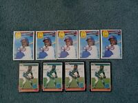 Shawon Dunston Baseball Card Mixed Lot of approx 243 cards