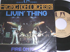 """7"""" - Electric Light Orchestra Livin thing & Fire on high - 1976 # 3713"""