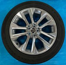 TOYOTA HIGHLANDER 2021 OE WHEELS & TIRES (4) 20x8 OEM Rims & GOODYEAR Tires