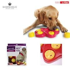Puppy Dog Hound Food Treat Dispensing Interactive Puzzle Training Pet Toy