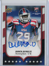 Dionta Defreeze 2016 Upper Deck #64 Team USA U18 Rookie Autograph