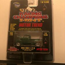 1/64 RACING CHAMPIONS MINT MOTOR TREND #133 1948 FORD F-1 PICKUP TRUCK GREEN