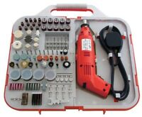 162 pc Electric Mini Drill & Bit Set Grinder Hobby Craft Jewellery Making-Amtech