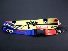 JDM SPOON SPORTS Lanyard Keychain Neck Strap Quick Release 2 Sided Print