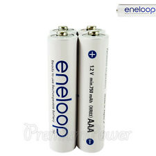 4 x Panasonic Eneloop AAA batteries 750mAh Rechargeable Accu Ni-MH HR03 Phones