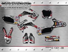 Honda CRf 250R 2010 up to 2013 graphics decals kit Moto StyleMX