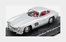 Mercedes Benz 300Sl Gullwing 1954 Silver Solido 1:43 SL4301100