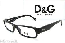 Authentic D&G Dolce&Gabbana Black Eyeglass Frame Rx DD 1168 - 501 *NEW*  51mm