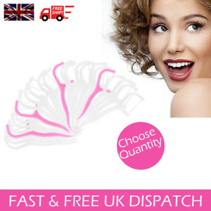 Double Dental Floss Flosser Brush Tooth Picks Oral Care Toothpick String Sword