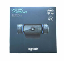 NEW IN HAND Logitech HD Pro Webcam C920 1080p 30fps Black- FAST FREE SHIPPING!!