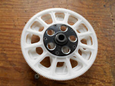 TREX 550 / 600 WHITE MAIN & TAIL DRIVE 06.M GEARS &  ONE-WAY BEARING EARLY TYPE