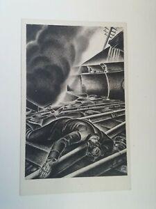 Cartolina Associazione nazionale Ferrovieri Numero 4 Apolloni