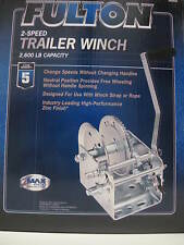 Fulton/Wesbar 142410 Winch 2-Speed 2600Lb Trailer Towing LC
