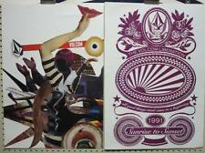 Volcom surf skateboard snowboard 2006 Abstract 2 Sided Poster ~Mint Condition~!