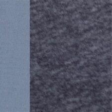 Original Schulte Alpaka dicht glatt blau dunkelblaue Spitzen 25 x 47 cm
