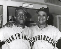 San Francisco Giants WILLIE MAYS & JUAN MARICHAL Glossy 8x10 Photo Baseball