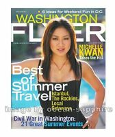 MICHELLE KWAN 2011 Washington Flyer magazine LAZ ALONSO Avatar Fast & Furious