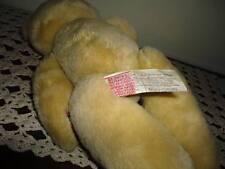 Dakin Vintage 1984 Jointed Teddy Bear Tartan Cotton Paws