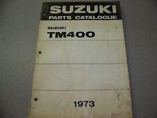 SUZUKI 1973 TM400  PARTS CATALOG