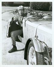 NOEL HARRISON CLASSIC CAR PORTRAIT THE GIRL FROM UNCLE ORIGINAL '67 NBC TV PHOTO