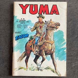 YUMA N° 98 - MIKI, ZAGOR - LUG 1970 - TBE
