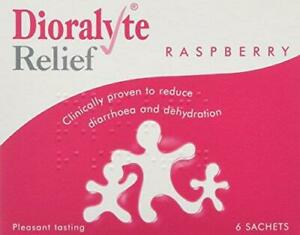 Dioralyte Relief Raspberry Medication, 6-Count