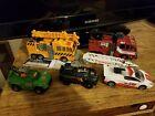 Transformers CHUG lot, Inferno, Grapple, Hoist, Red Alert, Trailbreaker.