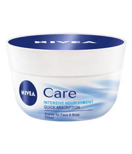 NIVEA CARE FACE CREAM Nourishing 200ML