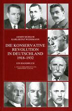 Die konservative Revolution in Deutschland 1918?1932 (Buch) Ein Handbuch