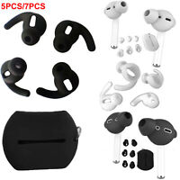 7PCS Silikon Ear Buds Tipps Cap Ersatzohrstöpsel für Wireless Kopfhörer Earphone