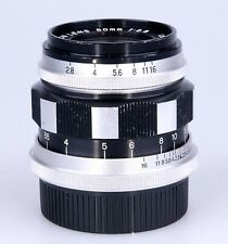 Canon 50mm F2.8 Screw Mount Lens for the Canon L Series. (1957).