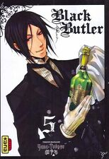 BLACK BUTLER tome 5 Yana Toboso MANGA shonen