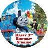 Thomas The Tank Engine  Personalised Edible Image REAL Icing Large Cake Topper