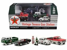 1:64 GREENLIGHT MOTOR WORLD DIORAMAS - TEXACO VINTAGE GAS STATION - 58037