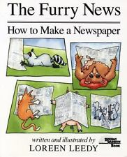 The Furry News : How to Make a Newspaper by Loreen Leedy (1990, Hardcover,...