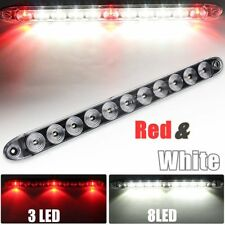 "15.5"" Truck Trailer Brake Red 3 LED With Reverse White 8 LED Light Bar Unverisal"