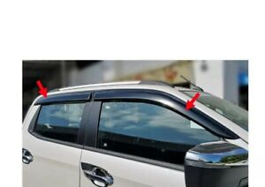2021 Mazda Bt-50 Slimline Door  Weather Shield  Wind Deflectors Duel Cab