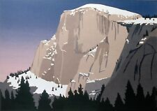 """Limited Edition Serigraph """"Half Dome"""" Yosemite  Signed/Numbered"""