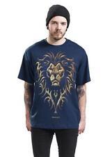 Warcraft Mens Alliance Emblem T Shirt Size Small Blue Box2608 B